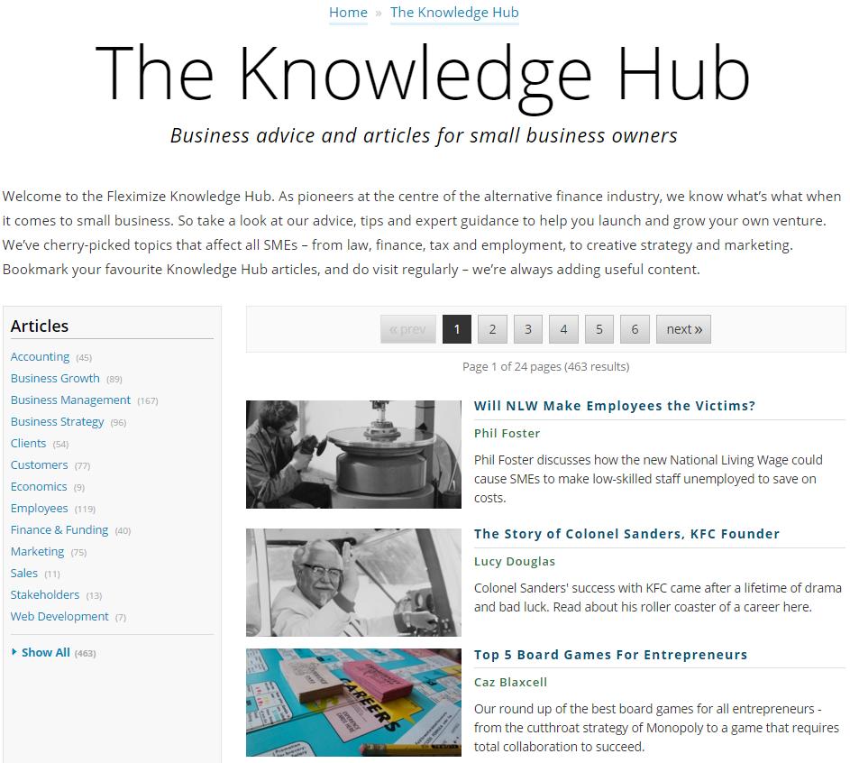 The Knowledge Hub