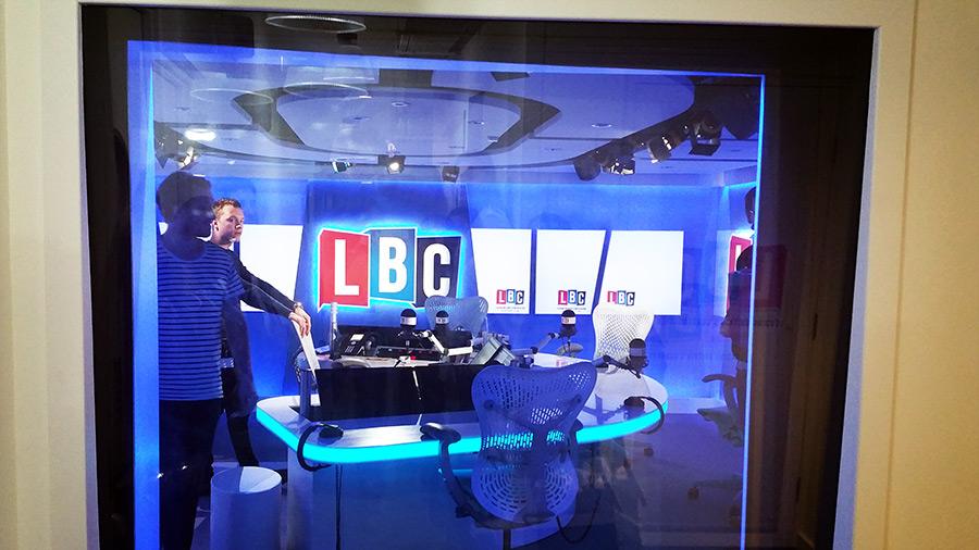 LBC Radio Studio