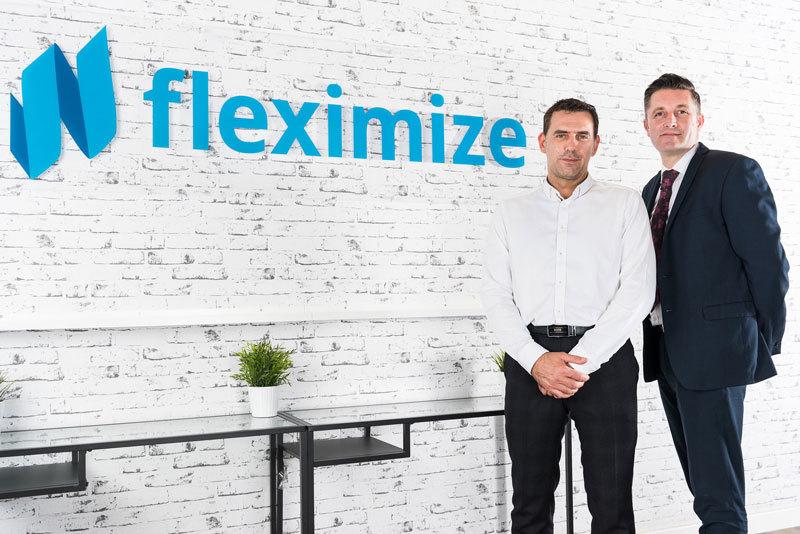Fleximize Office Peter and Alex
