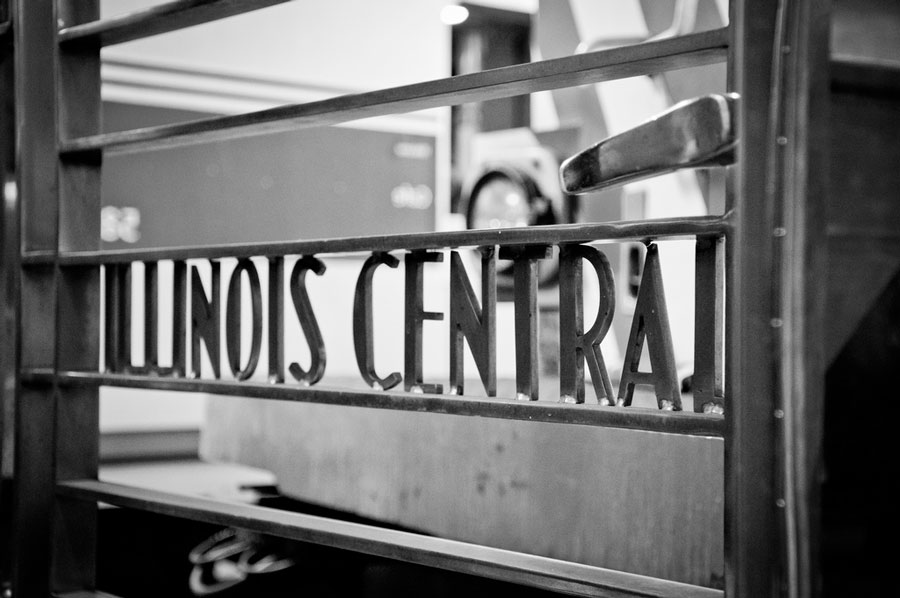 Illinois Central Railroad, the KFC founder's first employer.
