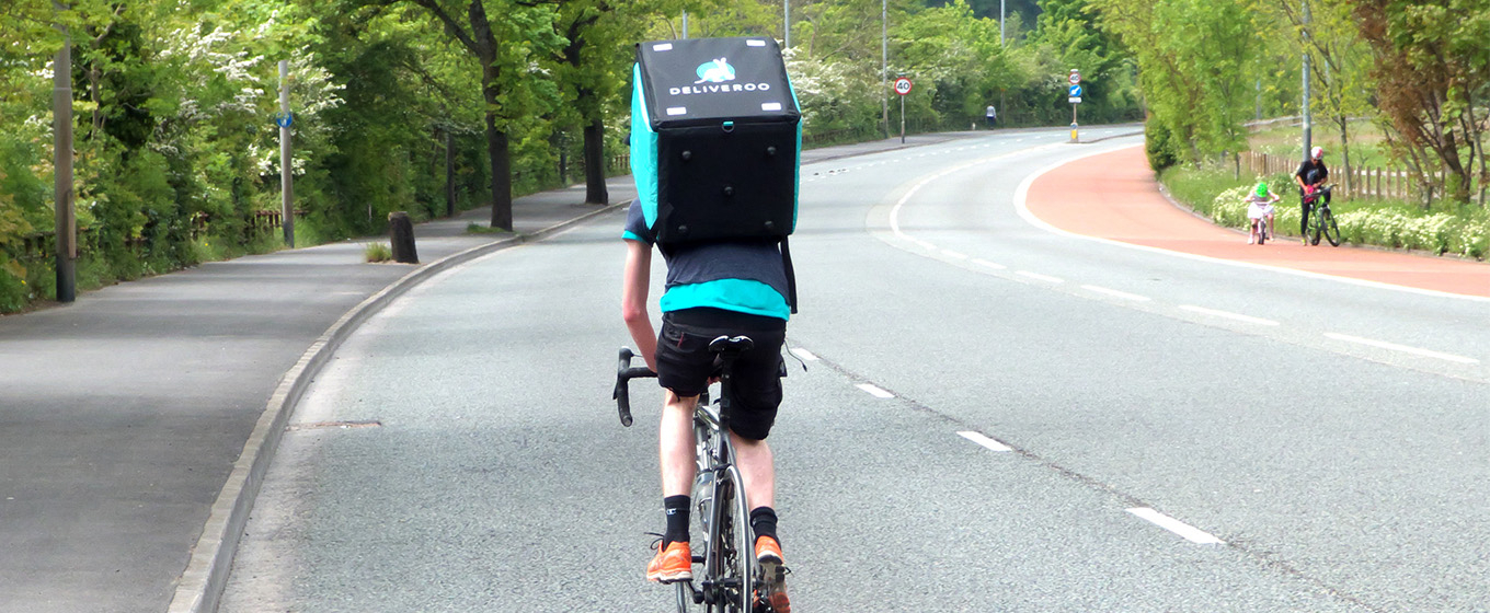 Government Says Deliveroo Must Pay Drivers National Living Wage