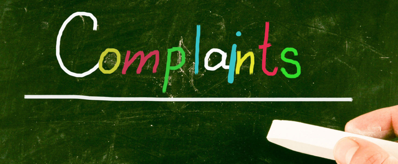 Time Scales for Handling Customer Complaints
