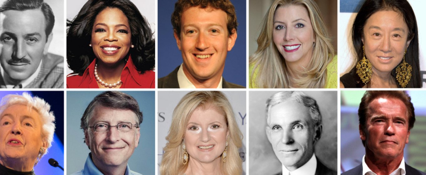 The Careers of Famous Entrepreneurs