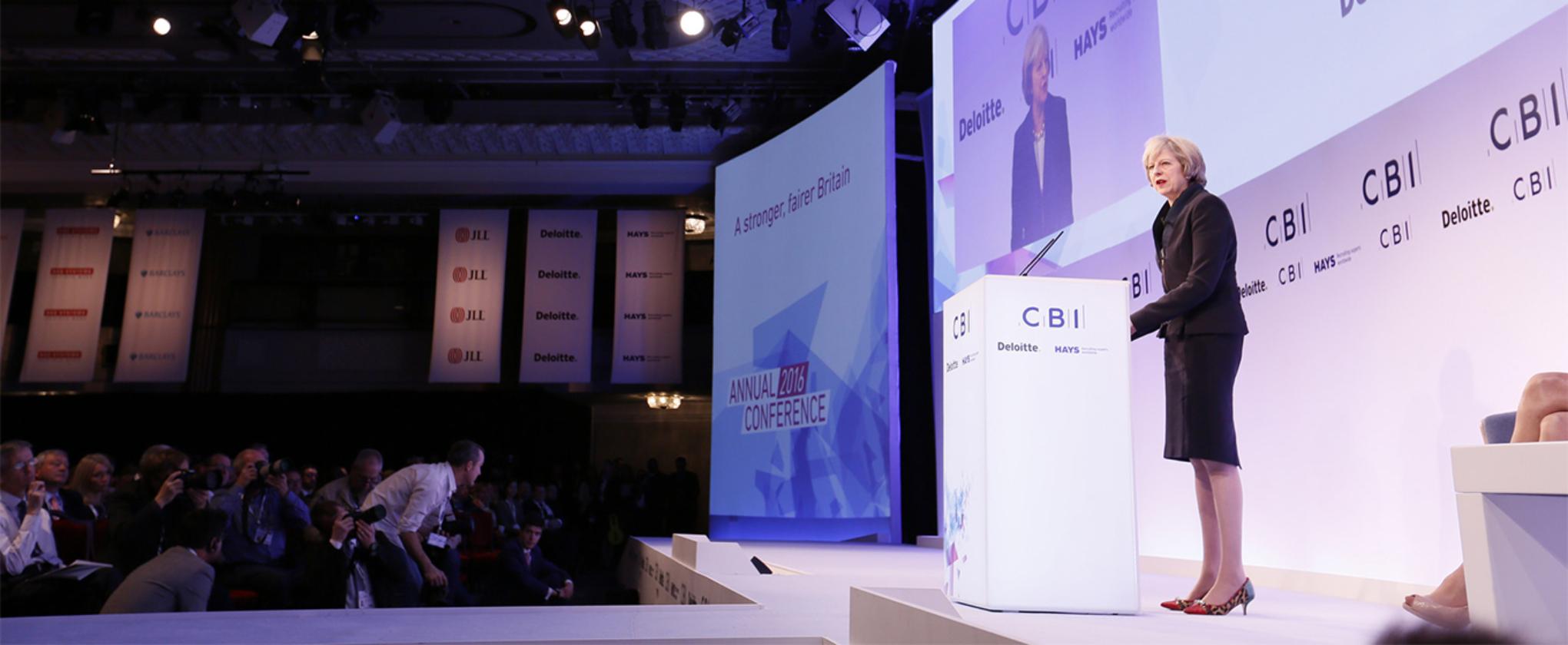 Theresa May Backs British Tech