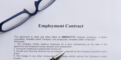 Seven Common Terms of an Employment Contract