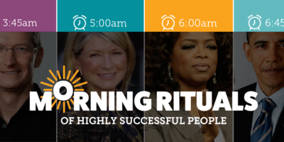 Morning Routines of Inspirational Leaders