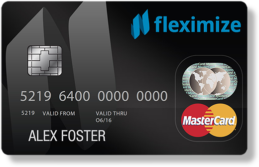 Flexipay MasterCard - The Fleximize card